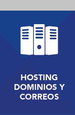 Hosting, Dominios y Correos Corporativos